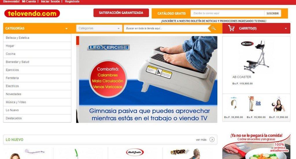 TV Compras Venezuela - Telovendo.com