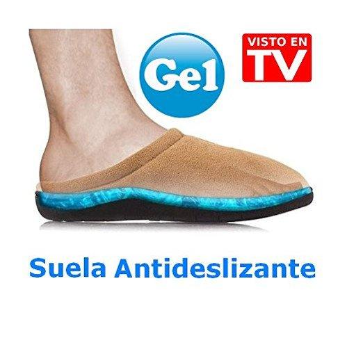 Zapatillas de gel para casa anunciadas en tv - Zapatillas andar por casa originales ...