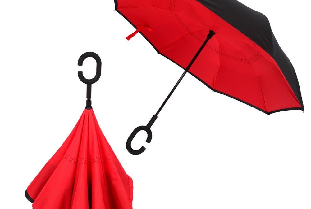Paraguas invertido