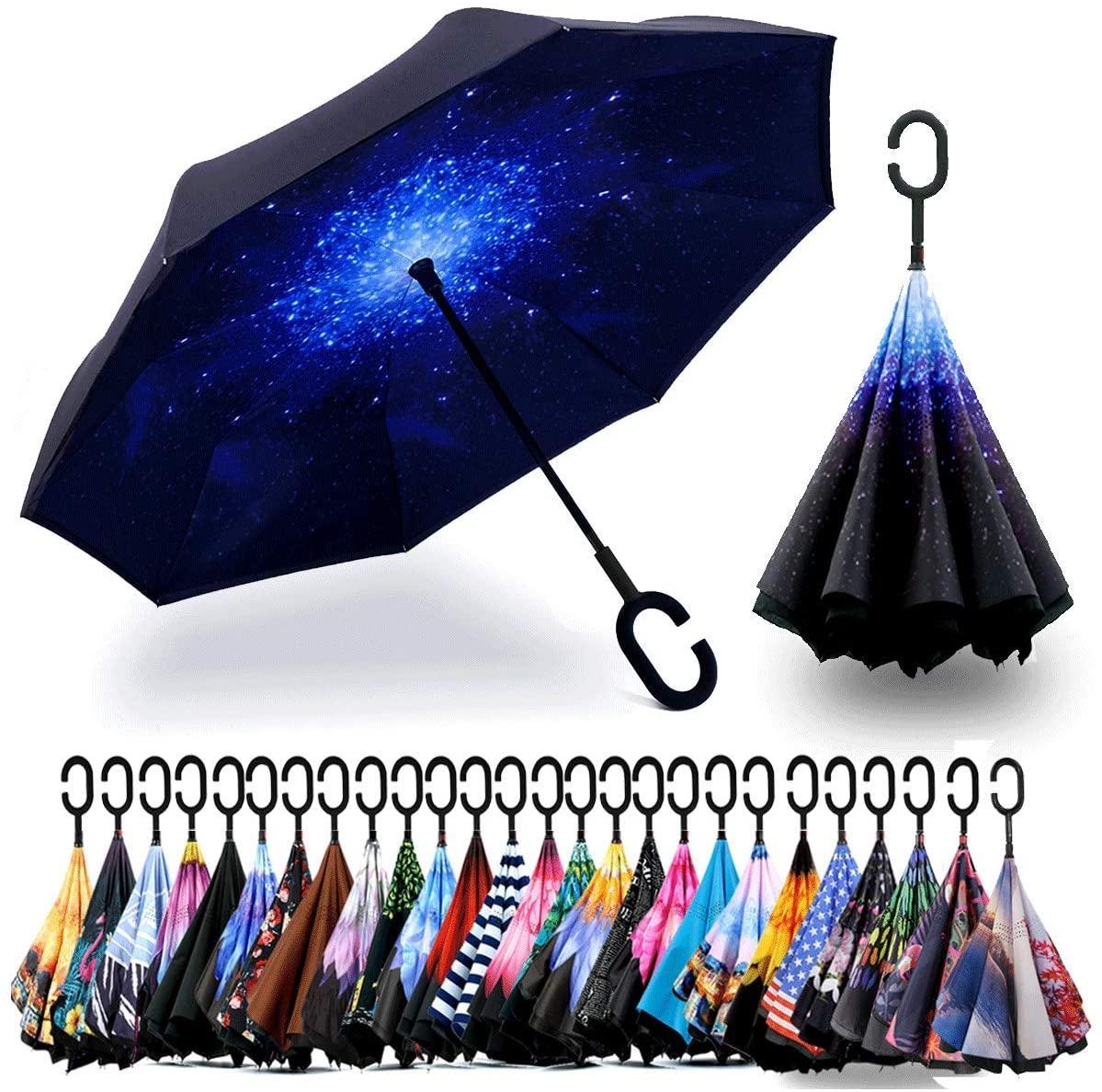Paraguas invertidos de Siepasa
