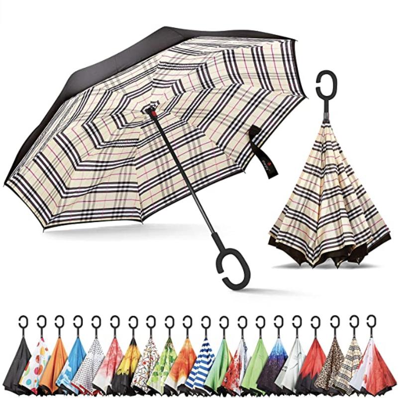 Paraguas invertidos Sharpty